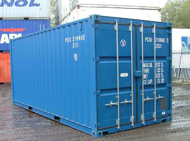 Steel Box Container, Self Storage
